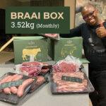 Free Range, Grass-Fed Beef Box - Braai Box 3.52kg Monthly