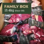 Free Range, Grass-Fed Beef Box - Family Box 15.4kg